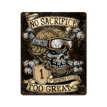 No Sacrifice Too Great Pasttime Signs