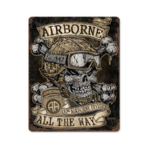 Airborne All The Way Pasttime Signs