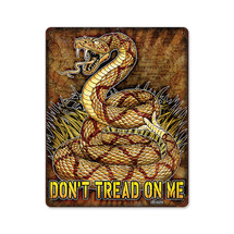 Don't Tread on Me Pasttime Signs