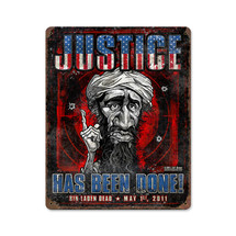 Osama Bin Laden Justice Pasttime Signs