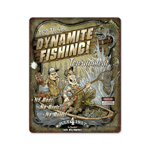 Dynamite Fishing Pasttime Signs
