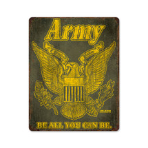 Army Retro Pasttime Signs