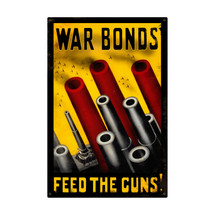 Feed The Guns Metal Sign Pasttime Signs
