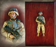"Sculpted Figures ""Mini American Soldier: Brotherhood Edition - Handpainted NEW"" Garman Sculptures"