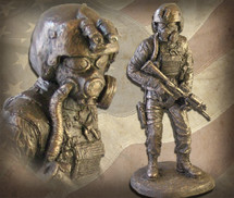 "Sculpted Figures ""Nightstalker"" Garman Sculptures"