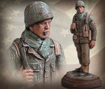 "Sculpted Figures ""Platoon Sergeant - Handpainted"" Garman Sculptures"