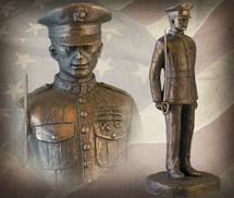 "Sculpted Figures ""Semper Fi"" Garman Sculptures"