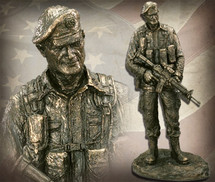 "Sculpted Figures ""Special Forces"" Garman Sculptures"
