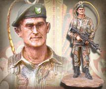 "Sculpted Figures ""Special Forces - Miniature"" Garman Sculptures"