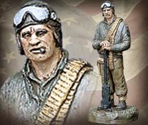 "Sculpted Figures ""Tanker - Handpainted"" Garman Sculptures"