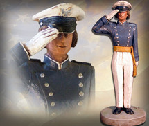 "Sculpted Figures ""USAFA Cadet Female - Handpainted"" Garman Sculptures"