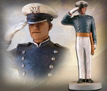 """Sculpted Figures """"USAFA Cadet Male - Handpainted"""" Garman Sculptures"""