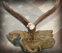"Sculpted Figures ""Wings of Freedom - Handpainted"" Garman Sculptures"