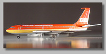 "Braniff International 720 ~ ""Red"" Flying Colors"