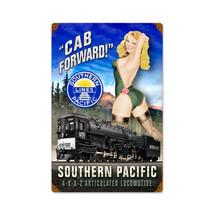 Cab Forward Vintage Metal Sign Pasttime Signs