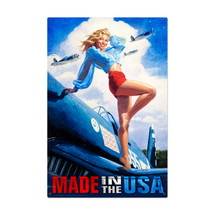 Made in the USA Metal Sign Pasttime Signs