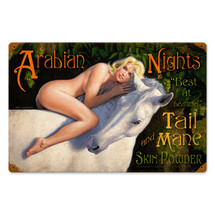 Arabian Nights Vintage Metal Sign Pasttime Signs