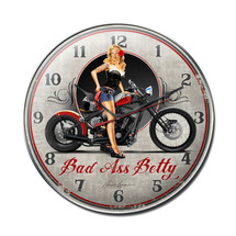 Bad Ass Betty Clock Pasttime Signs