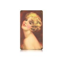 Deco Blond Vintage Metal Sign Pasttime Signs