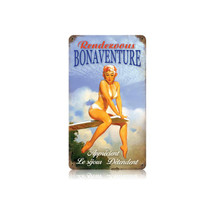Bonaventure Vintage Metal Sign Pasttime Signs