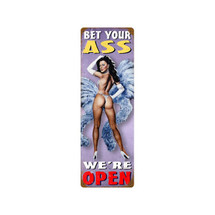 Bet Your Ass Vintage Metal Sign Pasttime Signs