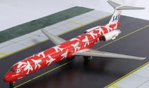 SAS Scandinavian Red Scheme McDonnell Douglas MD-82