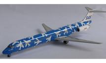 SAS Scandinavian Blue Scheme McDonnell Douglas MD-82