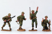 U.S. Marines Landing Force - On the Move Figure Set