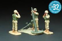 U.S. Marines M120 Mortar Team