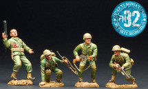 U.S. Marines Landing Force - Under Attack Figure Set