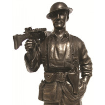AIF LEWIS GUNNER AIF FRANCE 1918