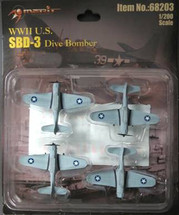 SBD-3 Fighter Planes WWII (Pre-Assembled)