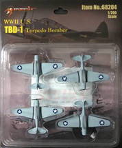 TBD-1 Torpedo Bombers WWII (Pre-Assembled)