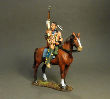 Mounted Indian A