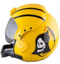 "Pilot Helmet ""VF-142 GHOST RIDERS"" Mini Helmet"