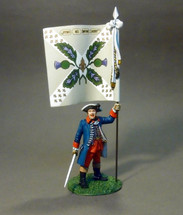 Officer with Colonel's Colours, Regiment Royal Ecossois
