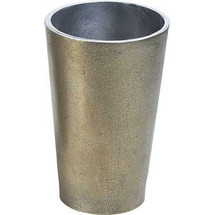 Aluminum Vase, Large Authentic Models