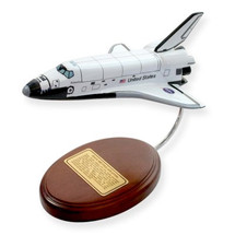 Space Shuttle Orbiter only wood (Atlantis) Mastercraft Models