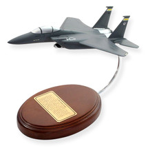 F-15E Strike Eagle Display Mahogany Model