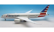 American Airlines Boeing 787-8 Dreamliner N801AC with stand