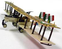 Ca.3 Regia Aeronautica 1 Squadriglia, Italy