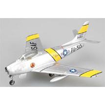 F-86F Sabre USAF 4th FIW, 334th FIS, #52-4513, James Jabara
