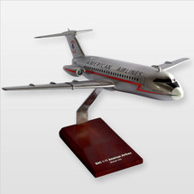 BAC-1-11 American Desktop Wood Model
