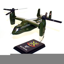 V-22 Osprey HMX-1 Greenside Model Wood