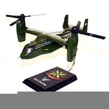 V-22 Osprey HMX-1 Greenside Model Wood