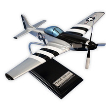 P-51 Mustang Quicksilver Wood model plane
