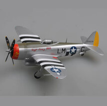"P-47D Thunderbolt USAAF ""Rozzie Geth II/Miss Fire"", Fred Christensen"