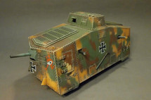 German A7V Armored Vehicle