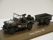 Willys MB Jeep with Bantam T3 Trailer 1st Canadian Army, 1944-45