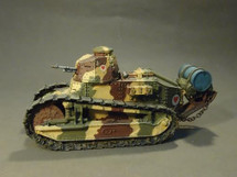 Renault FT, Hotchkiss 8mm machine gun, 2nd Platoon, 1st Company